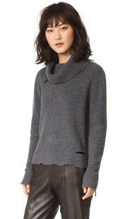 Кашемировый свитер с эффектом поношенности Anuok RtA