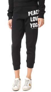 Спортивные брюки Peace Love Yoga Spiritual Gangster