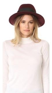 Шляпа с бантом в крупный рубчик Kate Spade New York