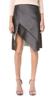 Проклеенная шелковая юбка Narciso Rodriguez