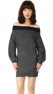 Платье-свитер с открытыми плечами Opening Ceremony