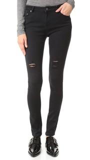 Рваные джинсы-скинни The Kooples