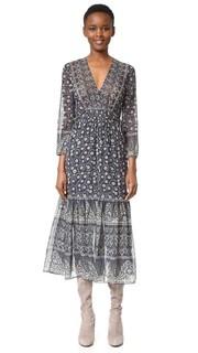 Многоуровневое миди-платье Dreamweaver Veronica Beard