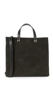 Простая объемная сумка с короткими ручками Petite Maison Clare V.