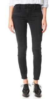 Байкерские джинсы-скинни Crawford Dl1961
