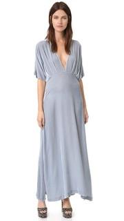 Платье Hayden из бархата Ganni