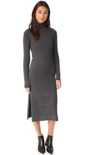 Приталенное платье с прямой юбкой Line