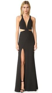 Вечернее платье с вырезами и глубоким декольте Michelle Mason