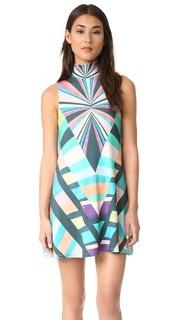 Воздушное платье Prism с воротником под горло Mara Hoffman
