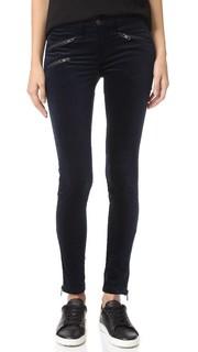 Узкие бархатные брюки RBW23 Rag & Bone/Jean