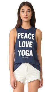 Майка Peace Love & Yoga Rocker Spiritual Gangster