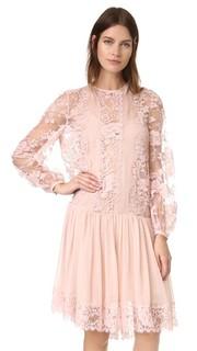 Кружевное платье Karmic Zimmermann