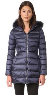 Пуховое пальто с меховой отделкой Add Down
