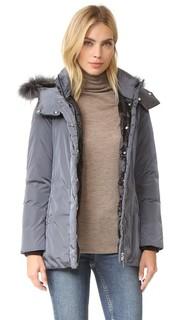 Пуховая куртка с меховой отделкой Add Down