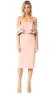 Платье с двойной складкой Keepsake