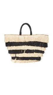 Объемная сумка с короткими ручками Pinata Kayu