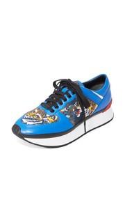 Кроссовки для бега Flying с тигровым принтом Kenzo
