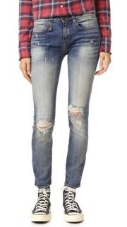 Укороченные джинсы-скинни Alison R13