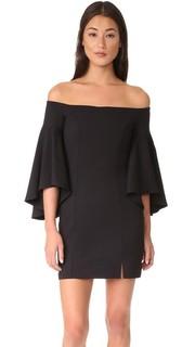 Платье с открытыми плечами Cara Susana Monaco