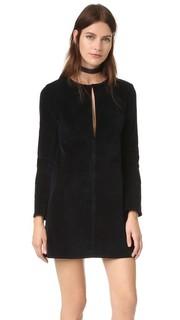 Платье WD с длинными рукавами и каплевидным вырезом 3x1