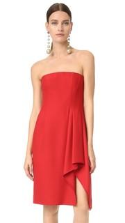 Платье без бретелек с бюстье J. Mendel