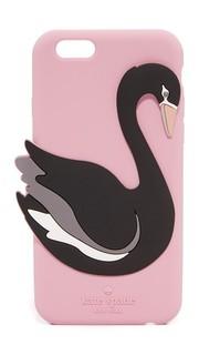 Силиконовый чехол Swan для iPhone 6/6s Kate Spade New York