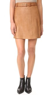 Кожаная юбка Jackson Ryder