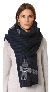 Объемный шарф Anders в клетку Standard Form