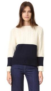 Укороченный свитер Guernsey &Daughter
