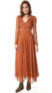 Кружевное макси-платье Guinevere Free People