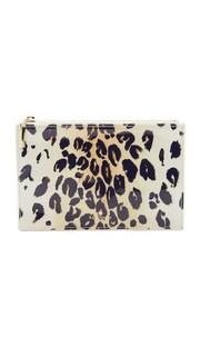 Пенал для карандашей с леопардовым принтом Kate Spade New York
