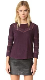 Пуловер с кружевной отделкой La Vie Rebecca Taylor