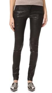 Кожаные байкерские брюки New Binta Marissa Webb