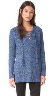 Пуловер из буклированного твида Rebecca Taylor