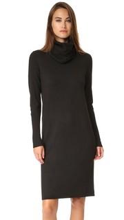 Платье-свитер с воротником-хомутом Pure DKNY