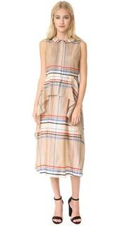 Платье с баской Cascade Suno