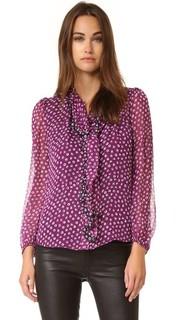 Блуза Havanah с завязками у выреза Diane von Furstenberg