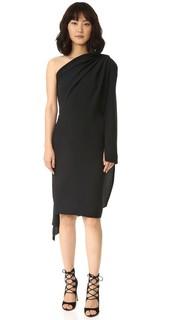 Платье с открытым плечом Gareth Pugh