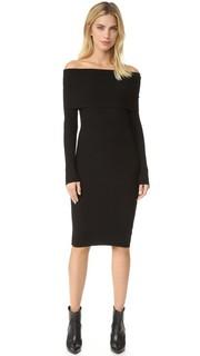 Платье с открытыми плечами Lea Line & Dot