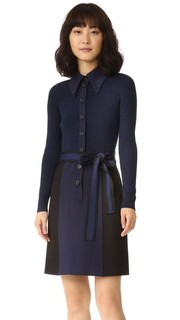 Платье на пуговицах с длинными рукавами Marc Jacobs