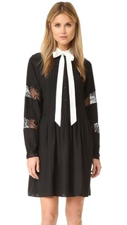Комбинированное платье Sal Parker