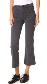 Укороченные брюки в морском стиле THE Great.