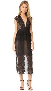 Кружевное платье Affair Three Floor
