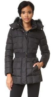 Пуховая куртка с отделкой из искусственного меха Add Down