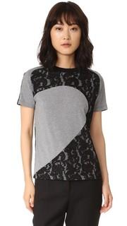 Кружевная футболка Carven