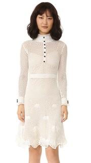 Платье с вышивкой Derek Lam