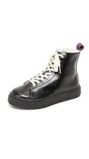 Кожаные кроссовки с высоким берцем Kibo Arctic Eytys