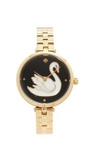 Часы с изображением лебедя Kate Spade New York