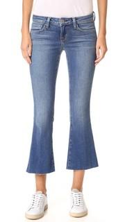 Укороченные расклешенные джинсы Charlie Lagence