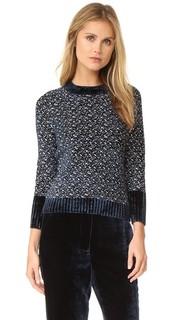 Пуловер из шенили с рукавами реглан 3.1 Phillip Lim